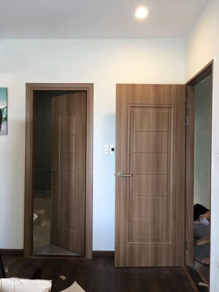 Cửa nhựa ABS Hàn Quốc chống nước tuyệt đối - Cửa chuyên dùng cho phòng ngủ