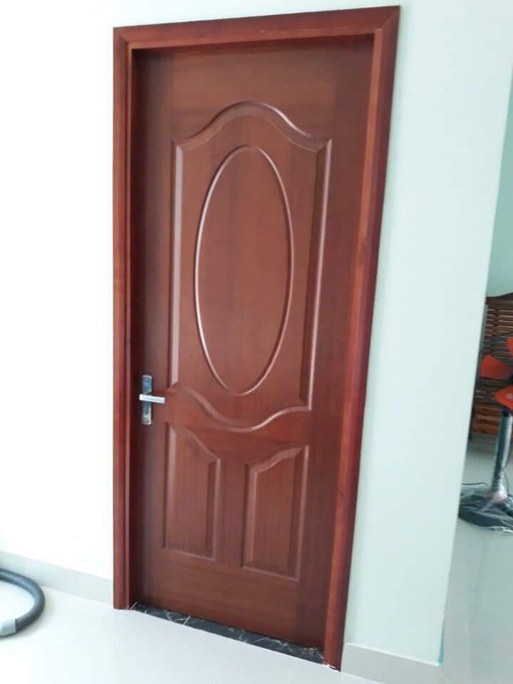 Cửa gỗ công nghiệp HDF phù hợp cho phòng ngủ