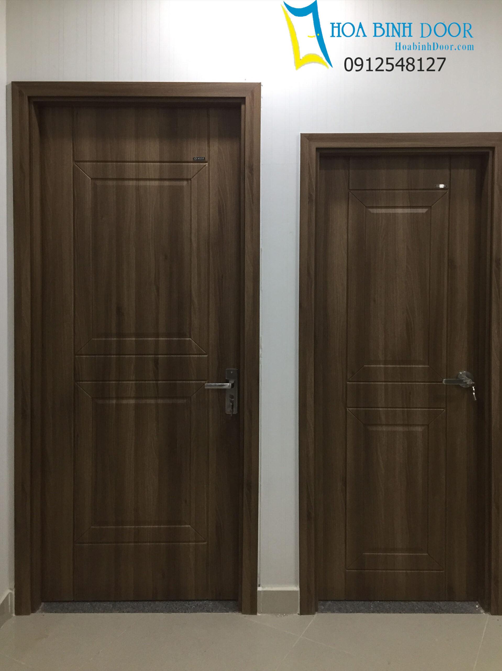 cửa nhựa gỗ
