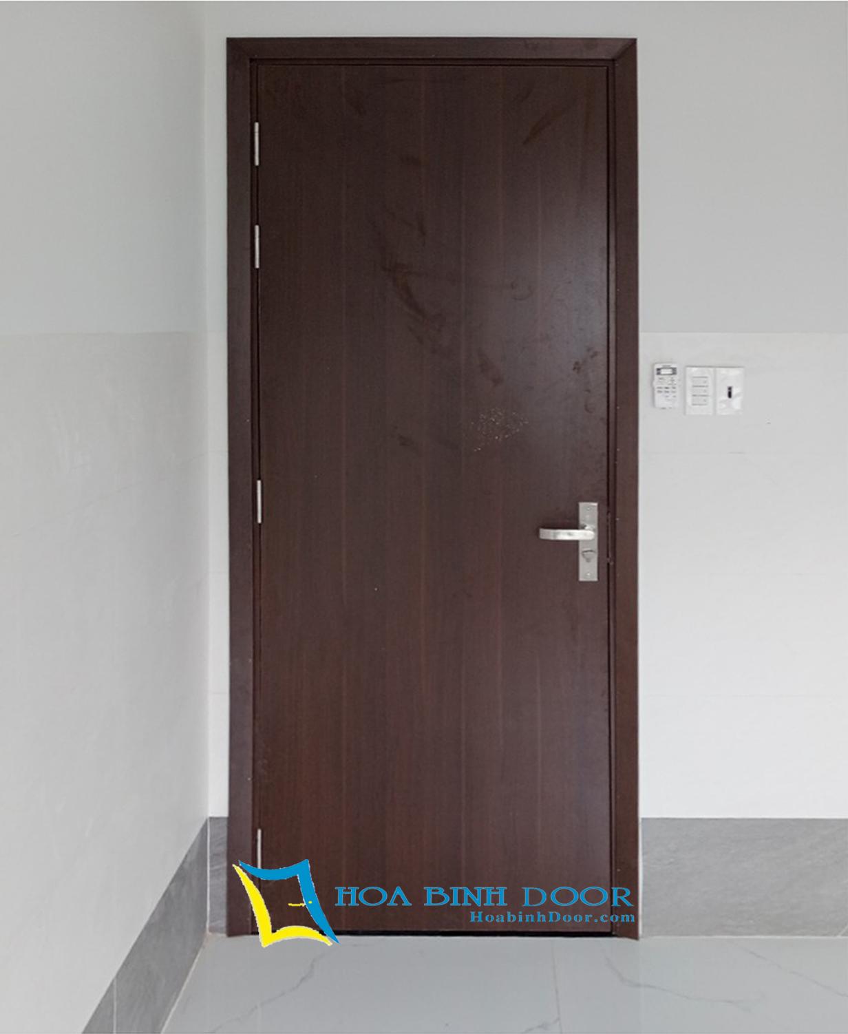 cửa phòng ngủ gỗ công nghiệp mdf