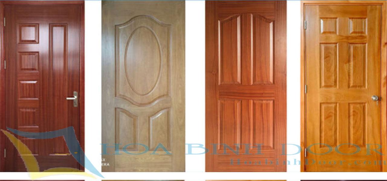 suwer dụng cửa gỗ công nghiệp hdf cho chung cư