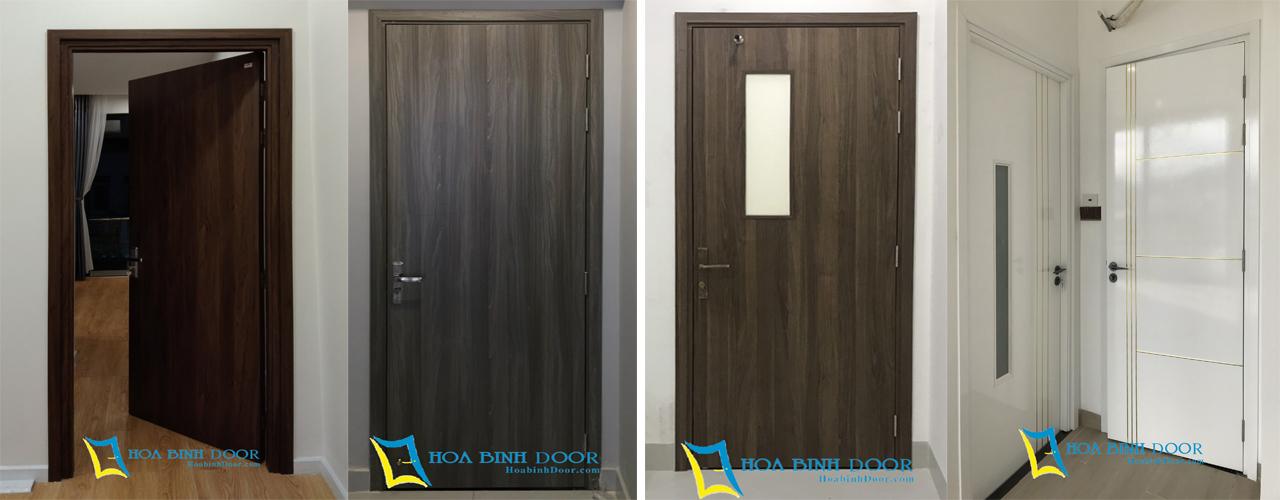 sử dụng cửa composite cho chung cư