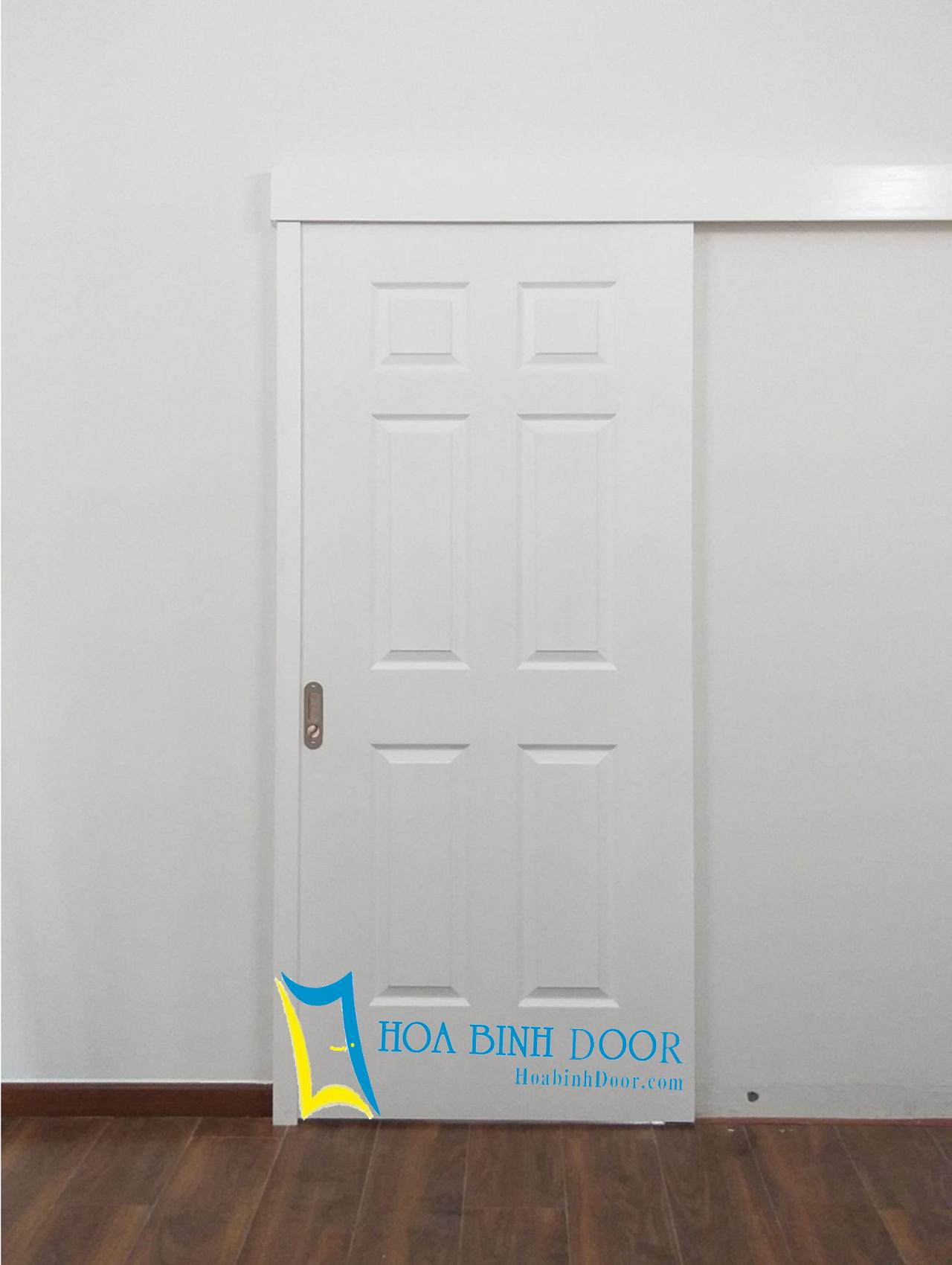cửa gỗ công nghiệp hdf sơn 6A-C1